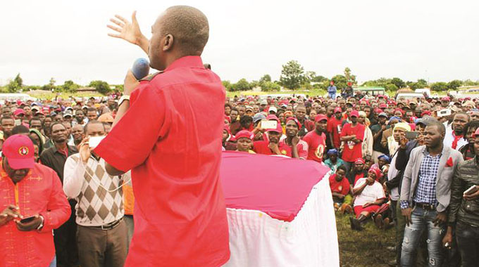 Chamisa claims US, EU listens to him