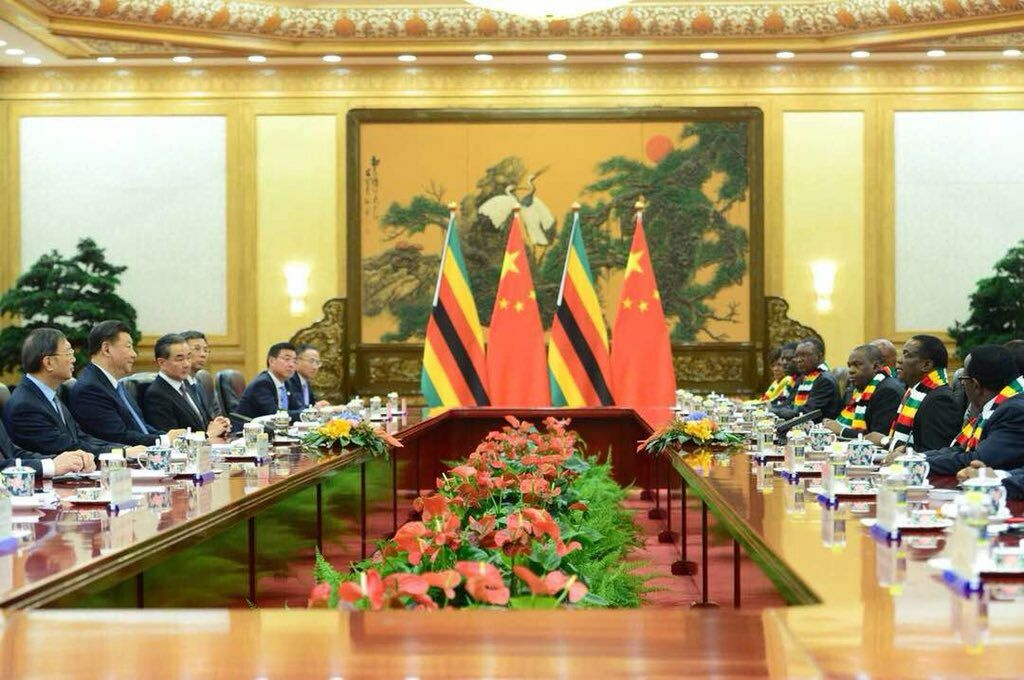 Zim to 'leapfrogging 18 years of isolation' with China's help