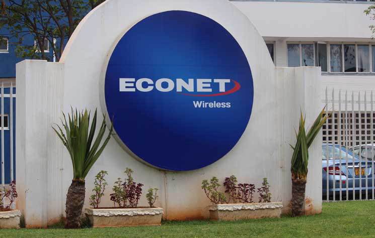Econet share price tanks