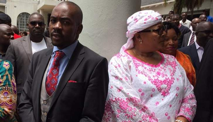 Chamisa in Khupe u-turn