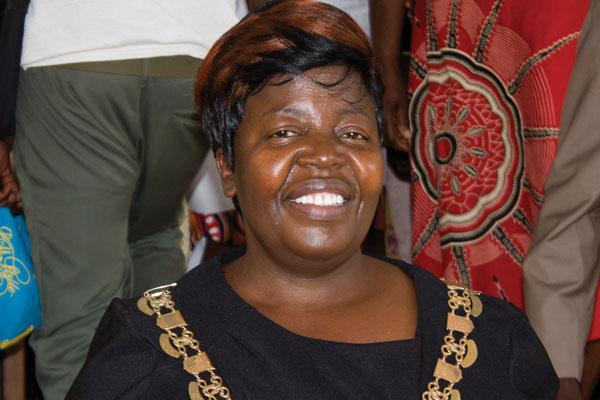 Kwekwe's first female mayor hits ground running