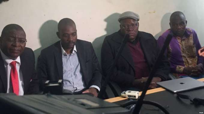 MDC Alliance plagiarised SA Constitution