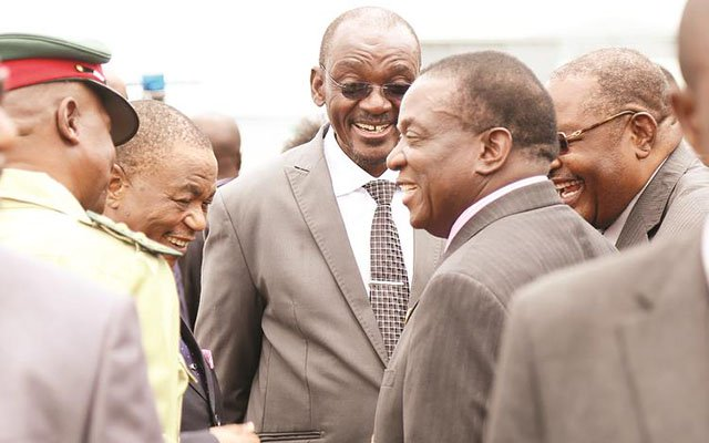 Cabinet sits after Mnangagwa return