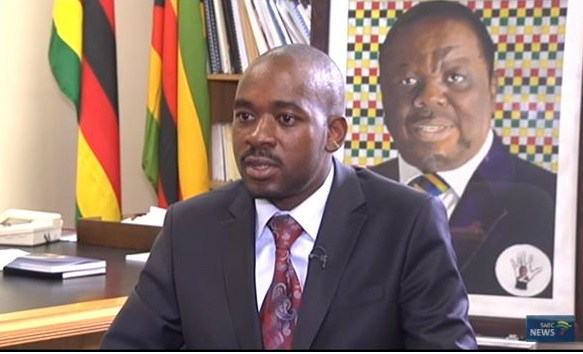 Chamisa warns Britain
