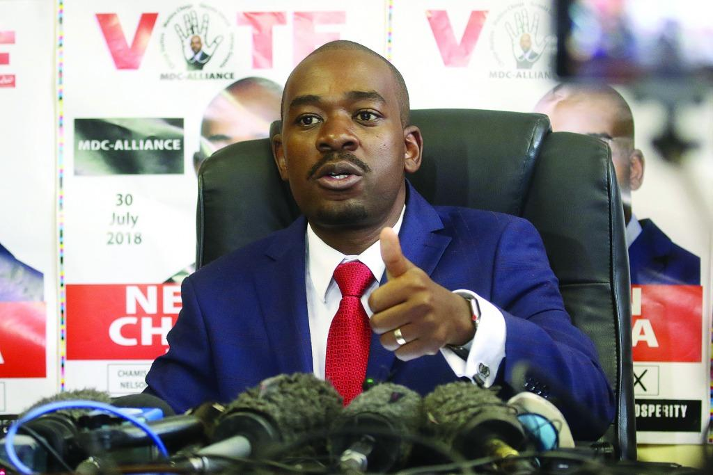 Latest on Chamisa's 'inauguration' as 'president'