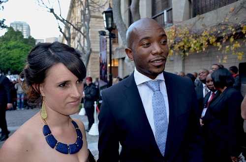 South Africa's Maimane backs Chamisa