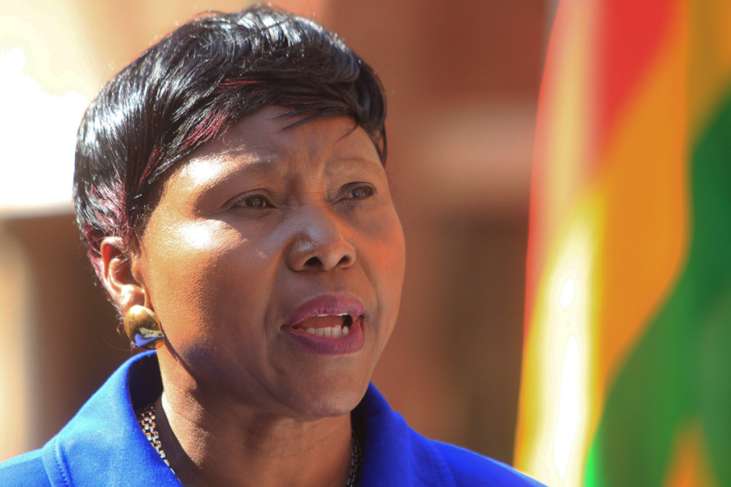 Muchinguri plots to doorstep Mnangagwa
