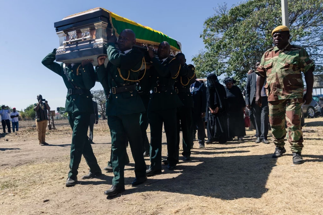 'Mugabe's burial place was never negotiable'