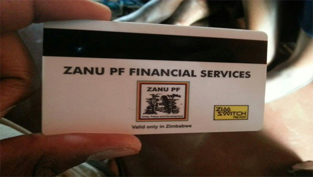 Zanu-PF issuing new electronic party cards