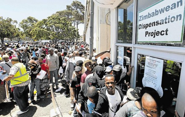 SA starts processing permits for Zimbabweans