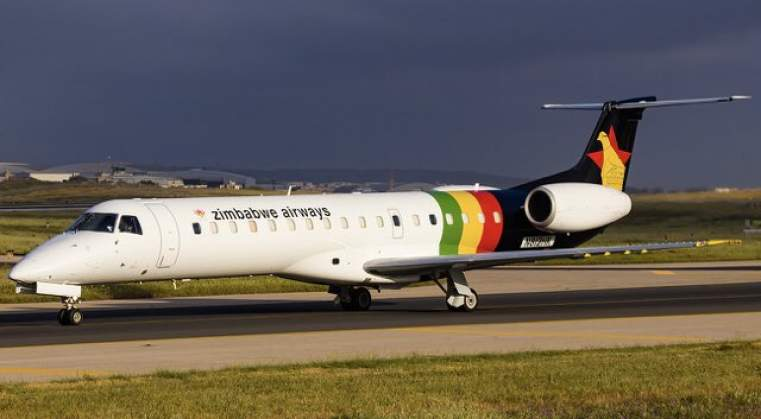 Embraer delivery marks Air Zimbabwe revival