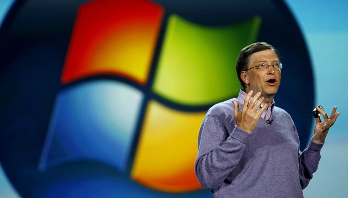 Microsoft's Bill Gates steps down