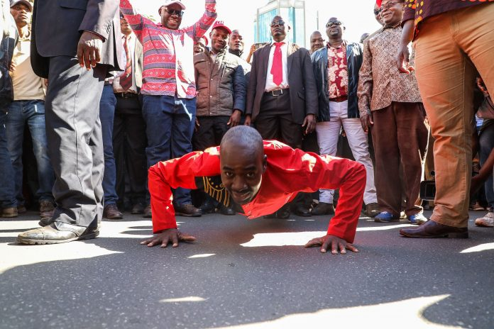 Chamisa lampoons supporters he incited