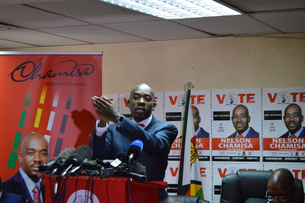 Chamisa appointed ZEC commissioners