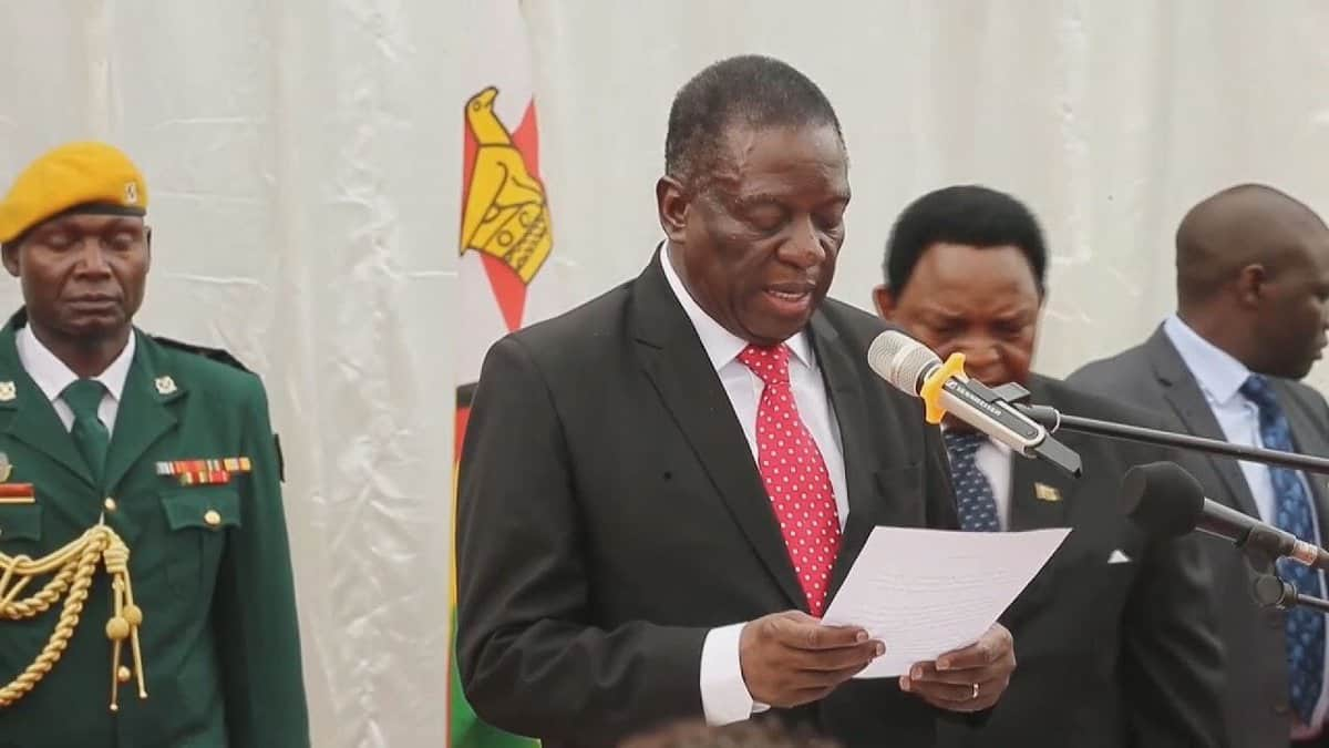 Mnangagwa's Cabinet okays provision of forex for basic goods