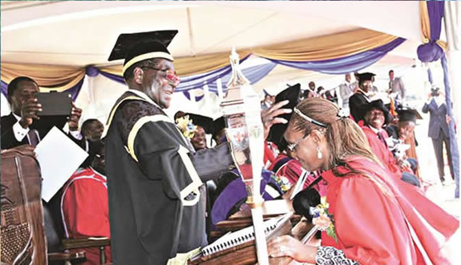 Grace Mugabe degree an 'academic fraud'