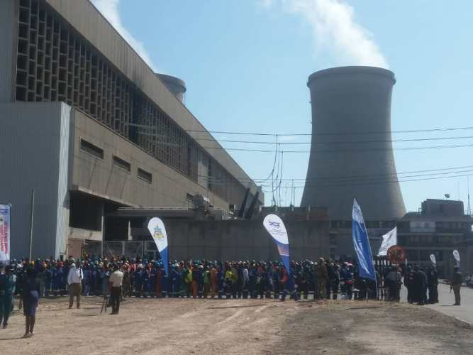 Power station expansion excites Hwange residents