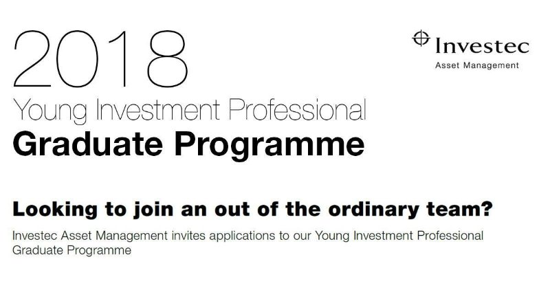 Young Investment Professional (YIP) Graduate Programme 2019