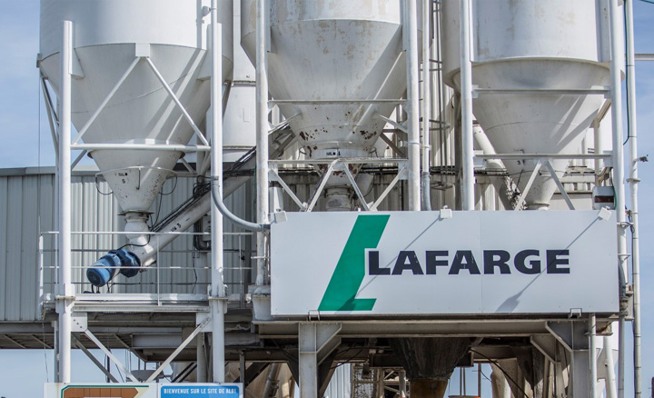 Lafarge Holcim Cement in lime mining wrangle
