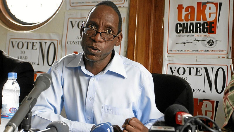 Madhuku sues Zec over voters' roll