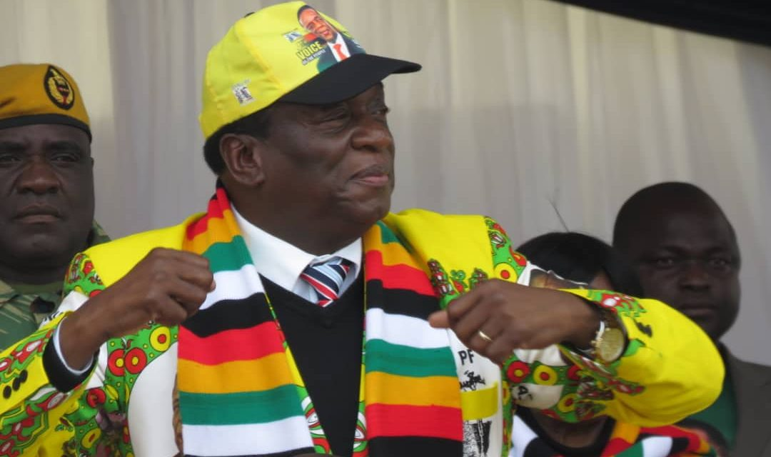 Zanu-PF looking beyond polls, says Mnangagwa