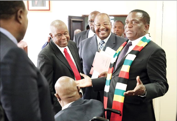 Obert Mpofu, Jacob Mudenda emerge as Mnangagwa's new targets for purging
