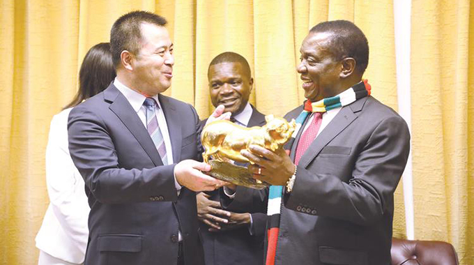 The future is tech, Mnangagwa