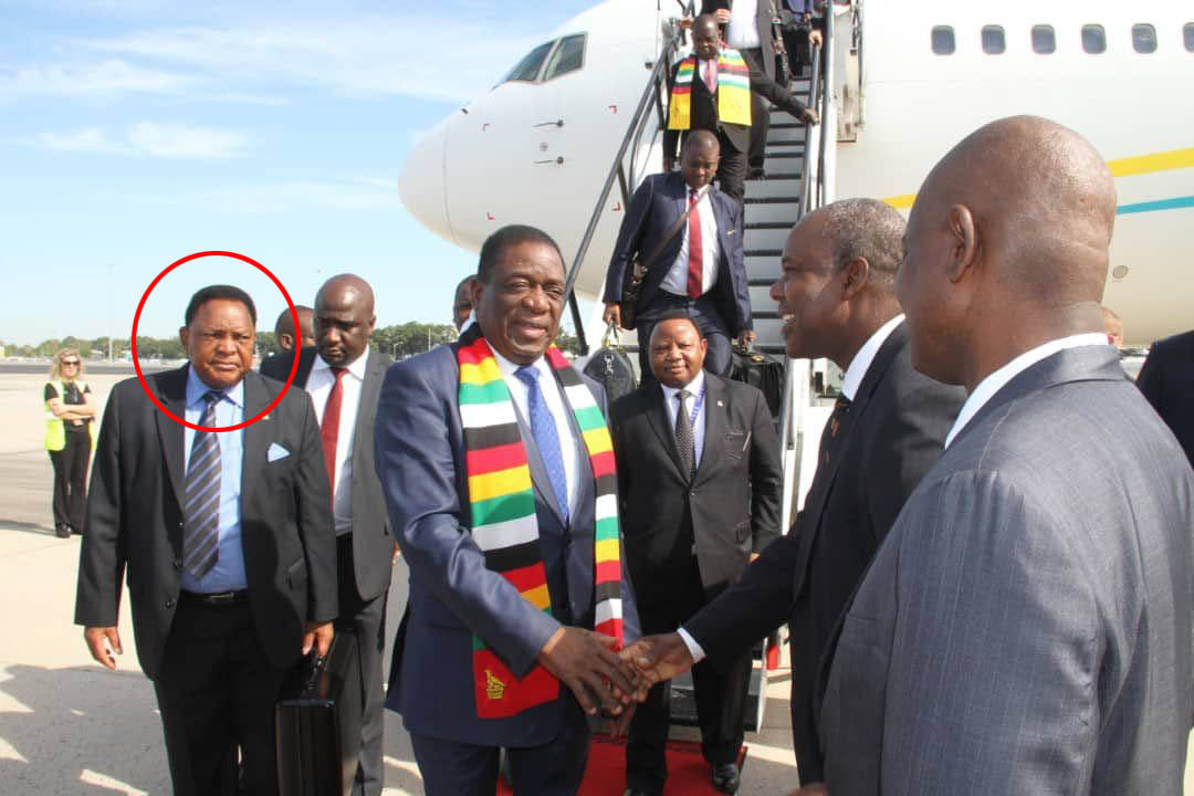 Mnangagwa's chief of protocol quits