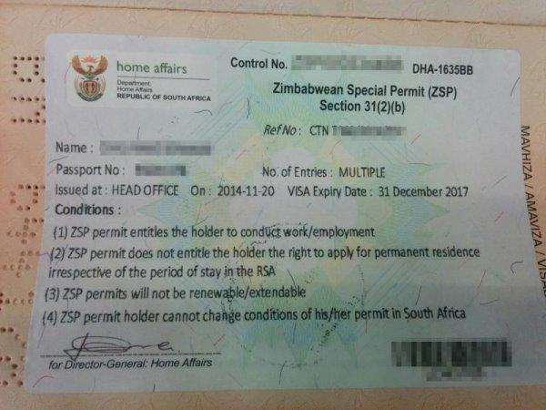 Zimbabweans panic as permit deadline approaches