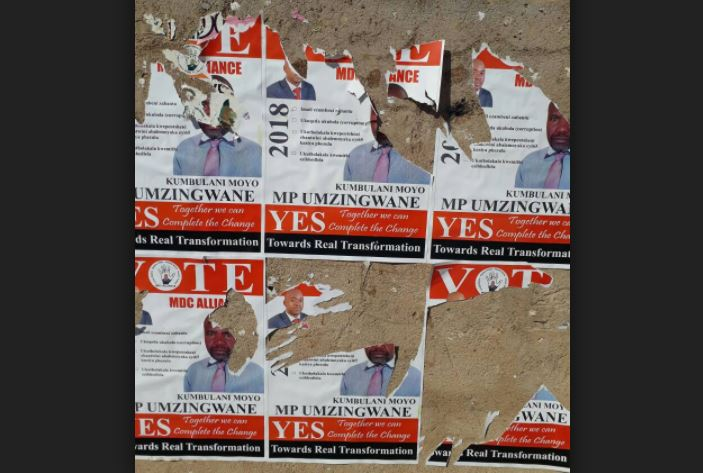 Police warn against defacing poll posters