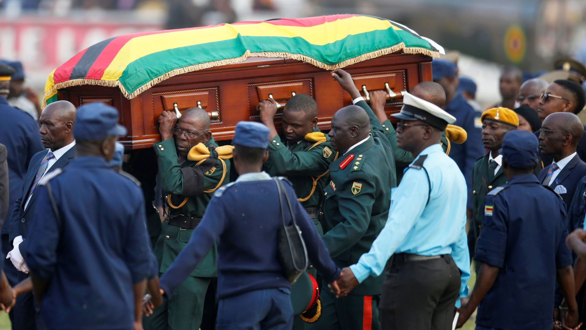Mystery of Mugabe's 'multiple' caskets unravelled